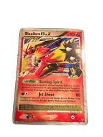 BLAZIKEN FB LV.X LVX 142/147 Ultra Rare Star Holo Foil Pokemon Card RARE VHTF