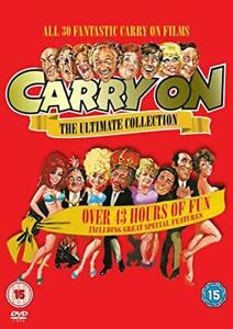 Carry On Complete Box Set British Comedy Series All 30 Films 1958 Movies Sets