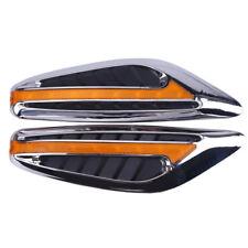 Blade Steering Light Fender Side Marker Light Car LED Turn Signal Lamp Yellow TS