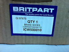 Land Rover Defender, Disco, Range Rover P38 Park brake shoe set