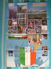 MAXI POSTER NAPOLI CAMPIONE D'ITALIA 1° SCUDETTO 86/87