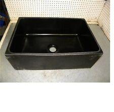 """Epoxyn EP-50C Undermount sink black resin 24""""x16""""x8"""" EP50C"""