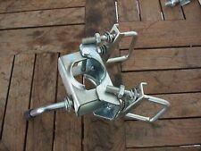 Klemmschelle Ø 48mm mit Klemmhalter für 60 mm  Zugrohr Vierkant