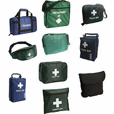 EMPTY REFILLABLE HOME OFFICE WORK TRAVEL SPORTS SCHOOL FIRST AID KIT BAGS ONLY