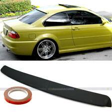 For 99-05 BMW 3 Series E46 2DR Primer Ready Rear Window Roof Wing Spoiler Visor
