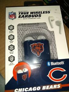Chicago Bears TRUE WIRELESS EARBUDS + Charging Case (all smart phones tablet