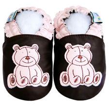 Soft Sole Leather Baby Shoes Prewalk Boy Infant Kid Children HedgehogBlue 12-18M