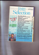 Magazine Reader's Digest Sélection Janvier 1990
