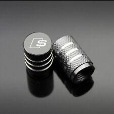 Audi S Line Valve Cap TT Sline A1 A3 A4 A5 A6 A7 A8 RS3 S1 S3 S5 Grey Dust Cap