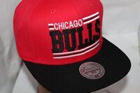 Chicago Bulls Mitchell & Ness NBA Between The Lines Snapback,Hat,Cap $ 35.00 NEW