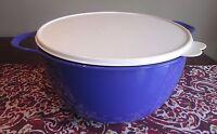 Tupperware MEGA NEW  Thatsa Bowl  10 L 42  cups PURPLE Berry Bliss