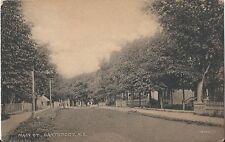 Postcard Nova Scotia Hantsport Main Street Hants County ca1907-20
