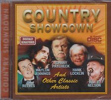 COUNTRY SHOWDOWN - VARIOUS ARTISTS - CD - NEW -