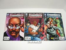 Stormwatch Post Human Division #5 7 8 Comic Lot DC Wildstorm 2007 Christos Gage