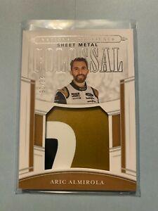 A23,065 - 2020 National Treasures Colossal Used Sheet Metal #20 Aric Almirola/25