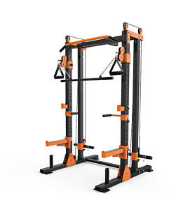 Home Gym Multifunctional Power Rack Squat Rack Equipment CablePully