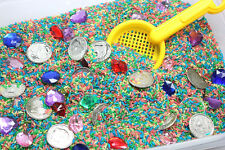 Buried Treasure Hunt Pirate Theme Sand Toy - toy treasure chest Game - Beach toy