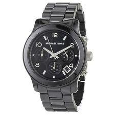 Orologio MICHAEL KORS MK5162 cronografo nero in ceramica con box e garanzia
