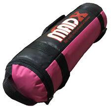 Madx 25kg POWER tela / Arena filled Bolso crossfit boxeo MMA Entrenamiento