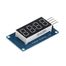 4 Bits TM1637 Digital Tube LED Clock Display Module Due UNO 2560 R3 For Arduino