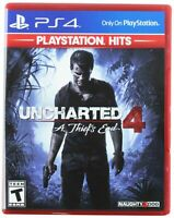 Uncharted 4: A Thief's End - PlayStation Hits PS4 Brand New Sealed