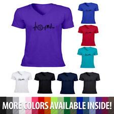 Volleyball Sports Heartbeat Lifeline Men Women Unisex Tee T-Shirt Hoodie Sweater
