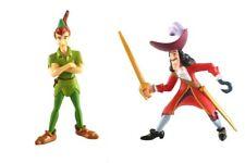 Figurine plastique Peter Pan Peter Pan et Capitaine Crochet, Disney