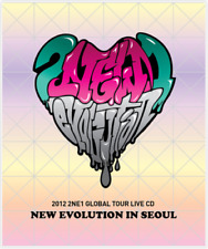 2NE1 NEW EVOLUTION IN SEOUL 2012 GLOBAL TOUR LIVE Album CD+Booklet K-POP SEALED
