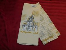 Disney Parks Most Magical Place On Earth WDW MK Castle Kitchen Towel Set New
