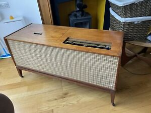 1964 McMichael Radiogram - Good Working Order - Mid Century- Radio & Turntable
