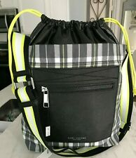 302c29049ce9 Marc Jacobs Plaid Ringer NS Shoulder Tote Crossbody Bag in Grey Multi  295  Vegan