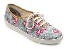 Hotter Mabel Shoes - Aqua Lace Floral UK 5 EU38 STD Fit JS32 61
