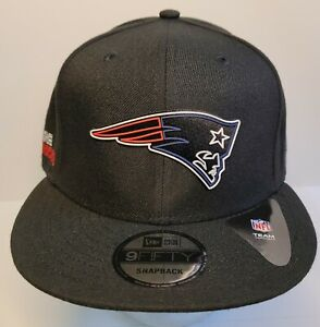 New England Patriots Black NFL New Era Snapback 2020 Draft 9FIFTY Fitted Hat
