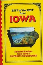 Best of the Best from Iowa IA Recipes Cookbook Communities Paperback Spiral