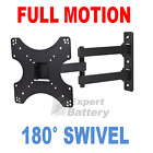 Articulating Arm Tilt Swivel LCD LED TV Wall Mount Bracket 22 26 32 37 39 40 42