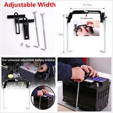 23cm Car Storage Battery Holder Adjustable Stabilizer Metal Rack Mount Bracket