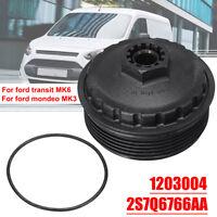 1203004 Oil Filter Cover Cap Bowl For Ford Transit MK6 Mondeo MK3 2.0 2.2 TDCI