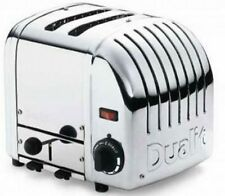 Dualit Toaster VARIO 2 polished + Brötchenaufsatz