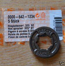 """Genuine stihl jante pignon MS240 MS260 MS391 MS270 MS250 325"""" 8T 1234 chenilles"""