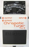 Used Boss TU-3 Chromatic Guitar Pedal Tuner!