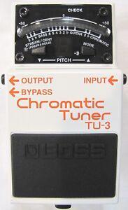Used Boss TU-3 Chromatic Guitar Pedal Tuner