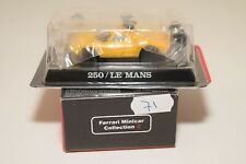 V 1:64 71 KYOSHO COLLECTION 2 FERRARI 250 LM 250 LE MANS 250LM YELLOW MINT BOXED