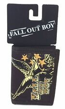 Fall Out Boy Eagle Print Nylon Tri Fold Brown Wallet New Official Band Merch