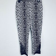 NYGARD LUXE SLIMS Animal Print Crop Women Legging. Size Small. Excellent Cond