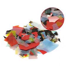 New 28g Mix Bullseye Kiln Fusing Glass Confetti For Microwave Kiln Fusing DIY