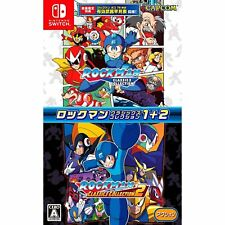 Capcom Rockman Classics Collection  NINTENDO SWITCH JAPANESE IMPORT REGION FREE