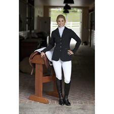 Romfh Jumper Show Coat Ladies Black Size 14R Equestrian Horse Equine