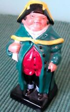 "Royal Doulton BUMBLE Rare Vintage Bone China 4"" Figurine, Dickens Series 1930s"