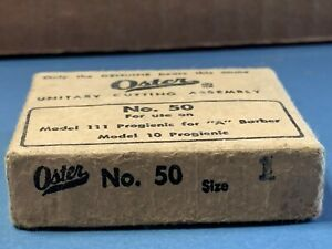 Vintage Oster Unitary Cutting Assembly No. 50 Size 1 For Use On Model 111