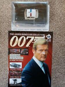 James bond 007 car collection No55 Dodge Monaco.